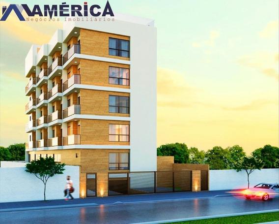 Edificio A 350m Do Mar De Ponta De Campina Tipo Flat - Fl0001 - 67663893