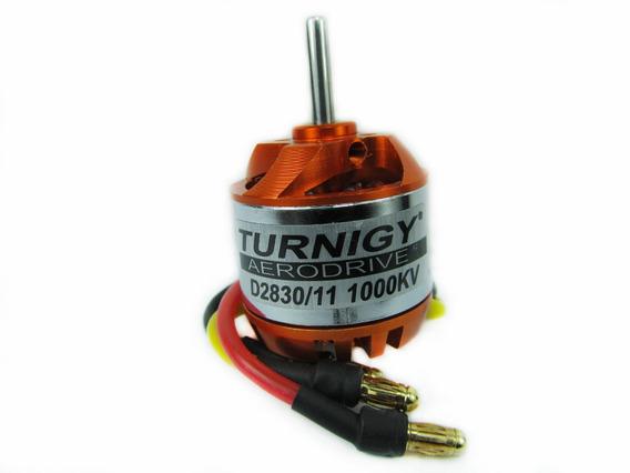 Motor Turnigy D2830-11 1000kv Brushless C/ Spinner E Suporte