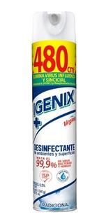 Desinfectante Spray Similar Lysoform 360ml Elimina Virus 99%
