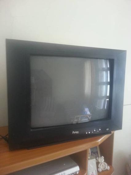 Televisor De 21 Pulgada Marca Parker Sin Control
