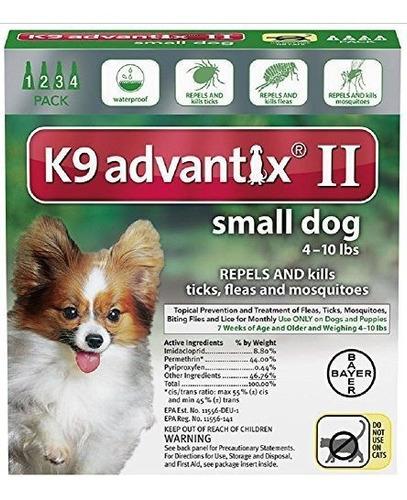 Axe Advantixii Dog 4mon 410lb Grn