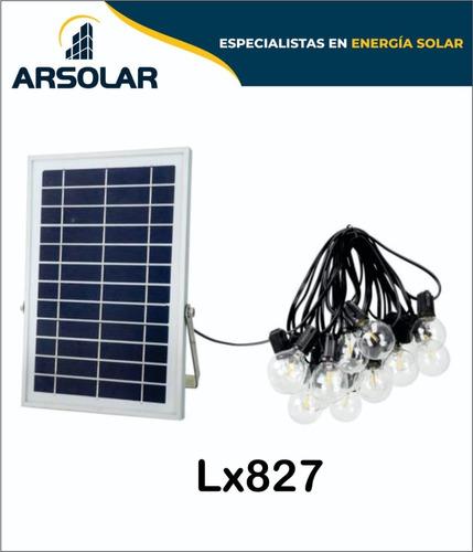 Imagen 1 de 1 de Apliques Led Solares 3w X Lampara