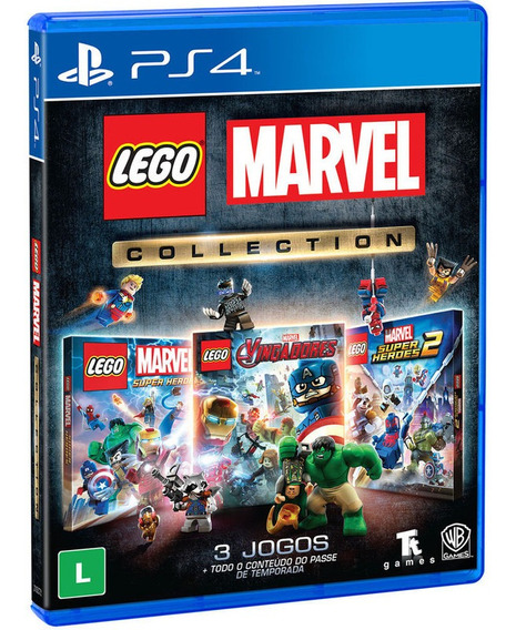 Lego Marvel Collection Br : Ps4