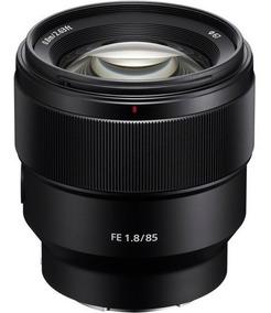 Lente Sony Fe 85mm F/1.8 - Sel85f18 - Loja Platinum