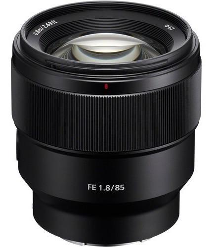 Lente Sony Fe 85mm F/1.8 - Sel85f18 - Lj. Platinum