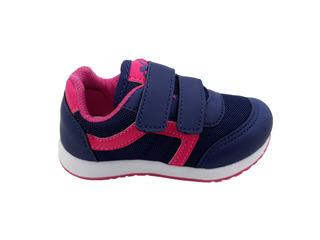 Tênis Infantil Via Vip Menina Vnj151 - Rainha Calçados