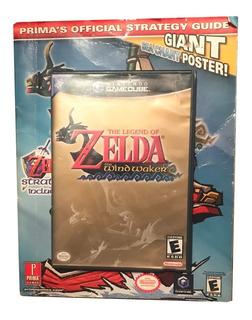 The Legend Of Zelda The Wind Waker Game Cube + Guía Estratég