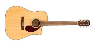 Guitarra Electroacustica Fender Cd140sce Nat Con Estuche