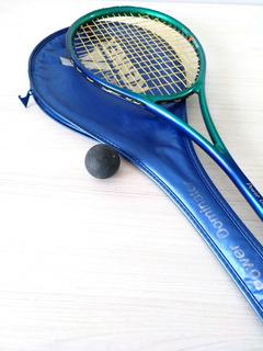 Raqueta De Squash Pro Kennex C/pelota Dunlop Punto Amarillo