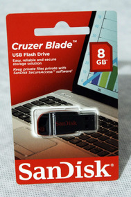 Pen Drive Sandisk Cruzer Blade 8gb Sdcz50-008g-b35