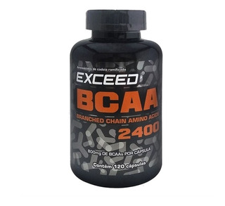 Exceed Bcaa 2400 120 Caps Advanced Nutrition
