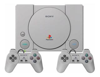 Play Station Classic Ps 1 Con 2 Controles Y Juegos Original