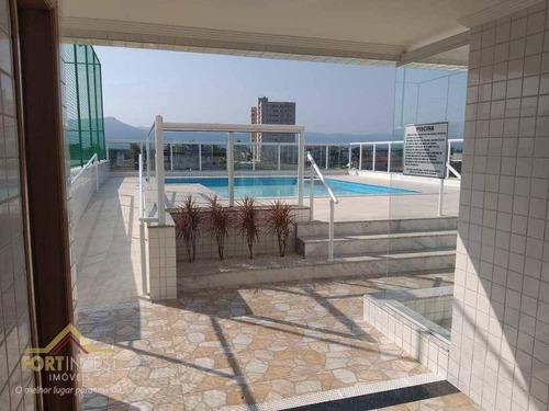 Imagem 1 de 20 de Apartamento Com 2 Dormitórios À Venda, 72 M² Por R$ 350.000,00 - Tupi - Praia Grande/sp - Ap2740