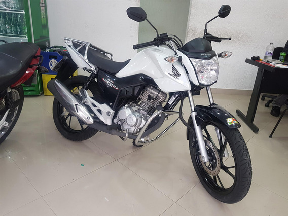 Honda Cg 160 Cargo 2019 Branca 20000 Km
