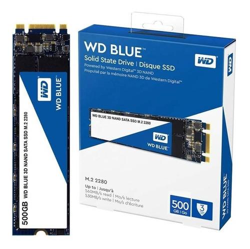 Disco Duro Ssd M2 - Western Digital Blue Sata 3 - 500gb