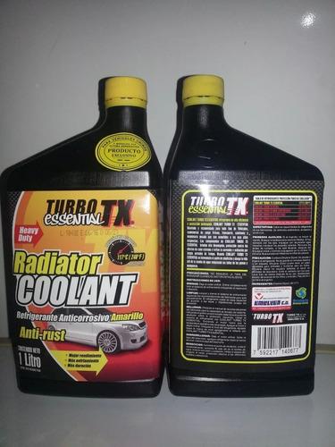 Refrigerante Coolant Turbo Tx Amariilo