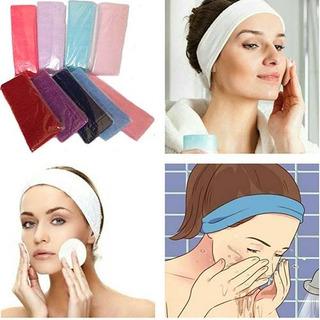 Vincha Entera Toalla Spa Cosmetología Masajes Colores 5cm