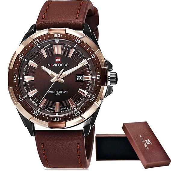 Relógio Naviforce Luxo Top