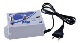 Amplificador Linha Proeletronic Tv Digital Pqal 3000 De 30db