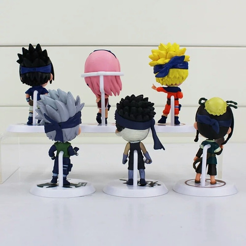 12 Unids Lote 7cm Figura De Animé Naruto Akatsuki Juguete Mercado Libre