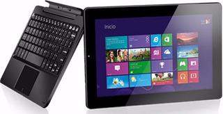 2en1 10pulg Tablet Notebook 32gb Ssd Quad-core Intel Windows