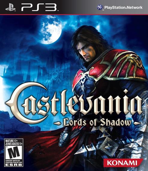 Jogo Castlevania Lords Of Shadow Ps3 Mídia Físi Frete Grátis