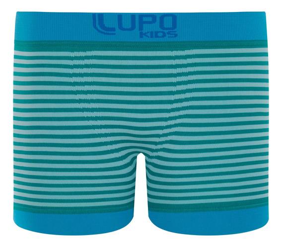 Cueca Lupo Infantil Boxer Microf. Ref. 00137-013