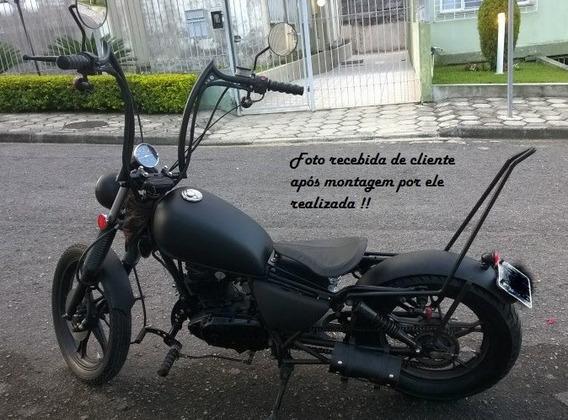 Moto Suzuki Intruder 125 Bobber - Chassis em Sorocaba de