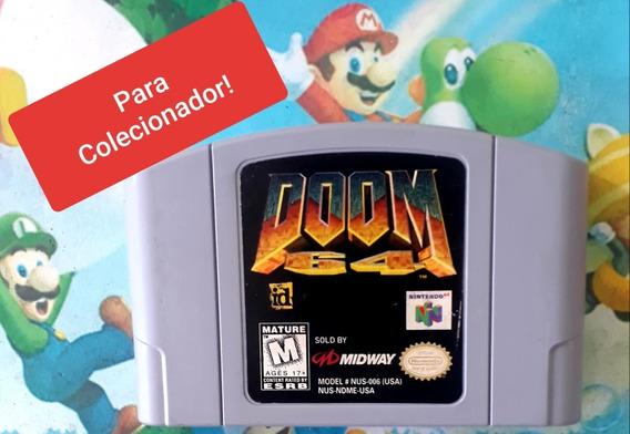 Promoção Para Colecionador Doom 64para Nintendo 64