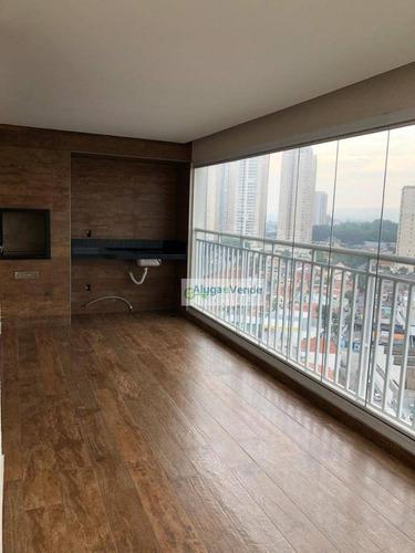 Apartamento A Venda No Condomínio Supera, 3 Dormitórios Sendo 2 Suítes E 3 Vagas De Garagem Na Vila Augusta Em Guarulhos - Ap0161