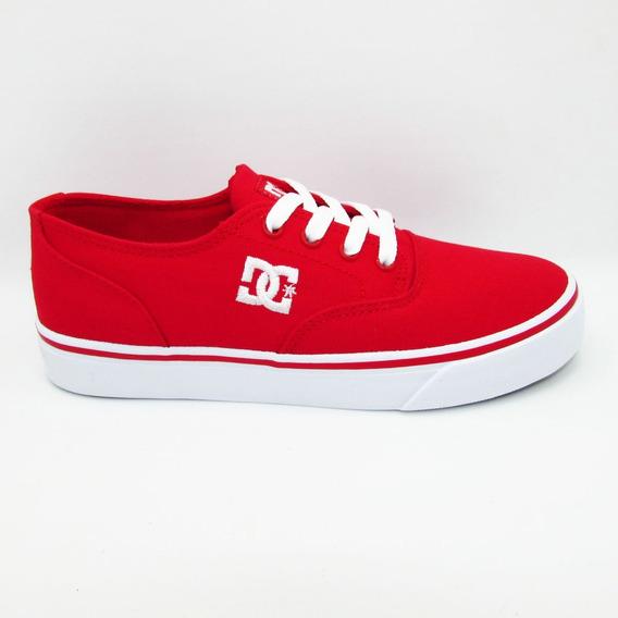 Tenis Dc Shoes Flash 2 Tx Mx Adys300417 Red Rojo Unisex