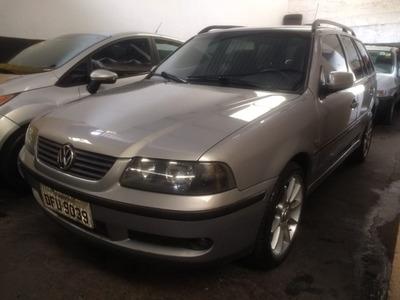 Volkswagen Parati 1.0 16v Turbo Prata 2001