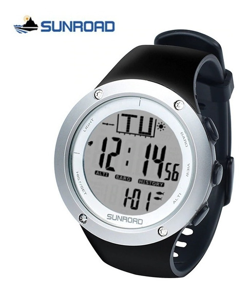 Relógio Masculino Barômetro, Altímetro, Temperatura, Pesca..