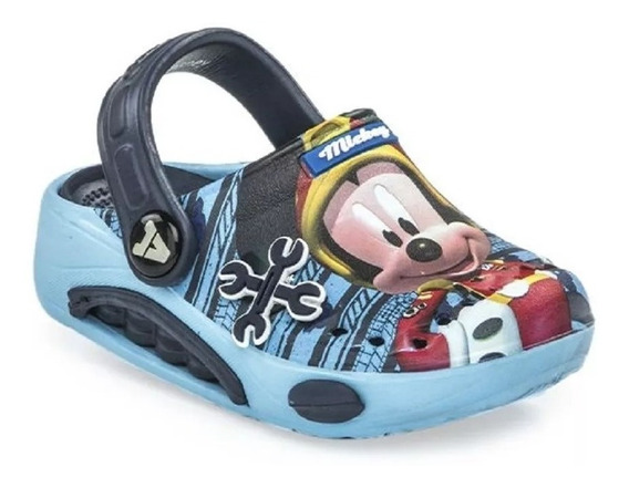Suecos Sandalias Addnice Disney Mickey Azul Fty Calzados
