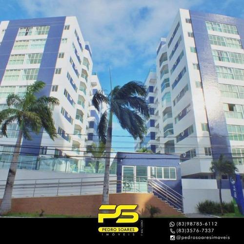 Apartamento Com 2 Dormitórios À Venda, 67 M² Por R$ 413.896 - Jardim Oceania - João Pessoa/pb - Ap4256