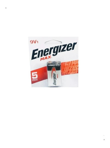 Baterias 9v Energizer Max Alcalina Caja X 12