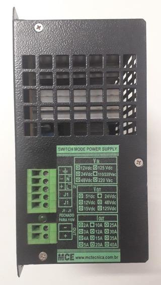 Fonte 24vcc X 10a - Industrial - Mce - Trilho Din 35mm