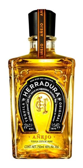 Tequila Herradura Añejo 100 % Agave 750 Ml