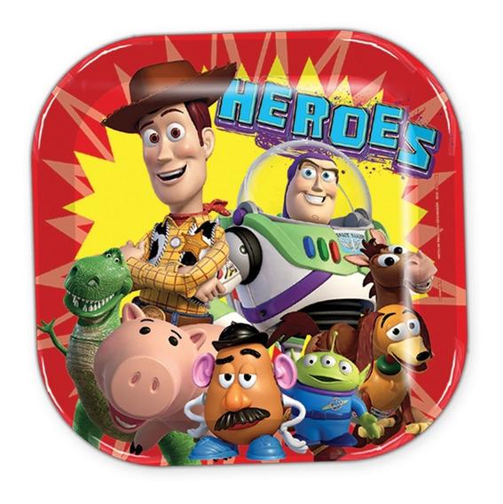 Toy Story Buzz Woody Vasos Platos Desechables Fiesta