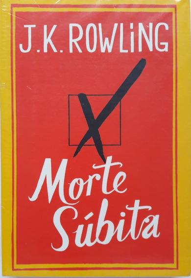 Livro Morte Súbita - J.k. Rowling - Semi Novo Bem Novo!!!