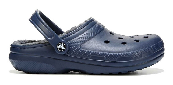 Crocs Classic Lined Clog Unisex Navy