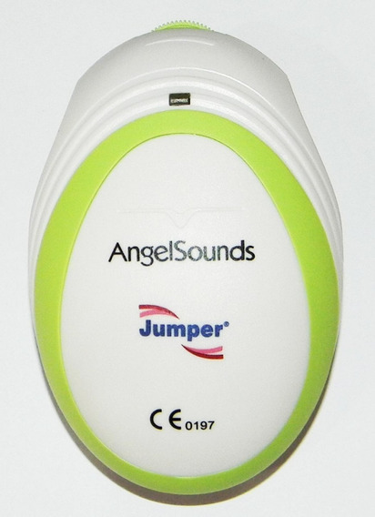Monitor Pré Natal Doppler Fetal Angel Sounds + Gel E Bateria