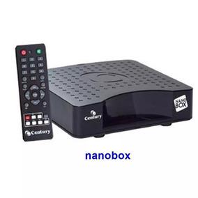 Receptor Nano Box Analógico Century Parabólica Pronta Entreg