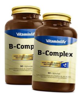 2x Vita B Complex - B1, B2, B3, B6, B9, B12 - Vitamin Life