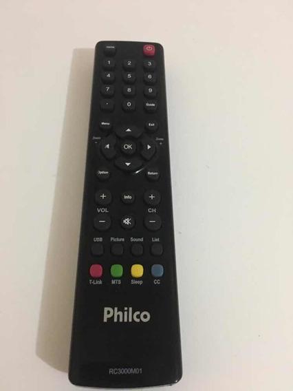 Controle Tv Philco Ph46 Led A2 Original Usado