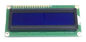 Display Lcd 1602 16x2 Backlight Azul