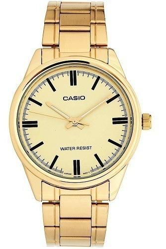 Relógio Casio Masculino Analógico Mtp-v005g-9audf
