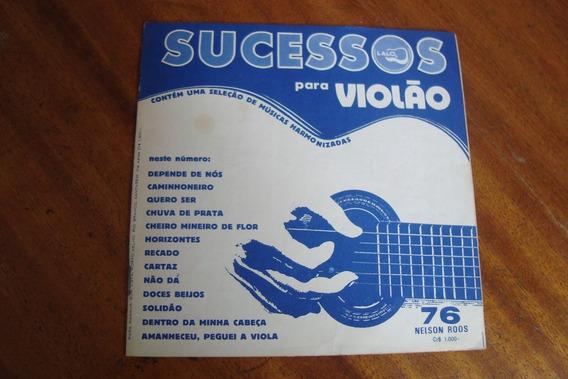 Revista Nelson Roos 76 / Album De Sucessos Para Violao
