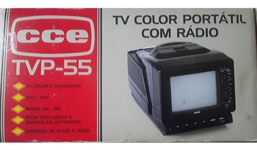 Tv Cce 5 Polegadas  Color Portátil Com Rádio/ Frete Grátis