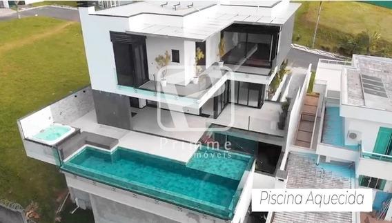 Primme Vende Maravilhosa Casa Com Vista Para O Mar Em Condominio Fechado - 5251